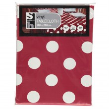 Red Dot Tablecloth 81