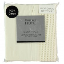 Linens and Lace Waffle OXford Pillow Case