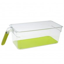 Stanford Home Home Fridge Freezer Handle Storage Bin28x12x9.5 00