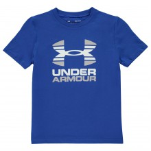 Under Armour Two Tone Short Sleeve T Shirt Junior Boys