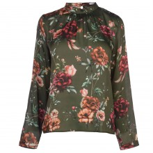 Full Circle Print Blouse Ladies