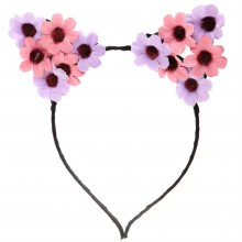Miso Flower Ears Headband Ladies
