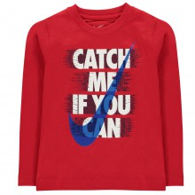 Nike Catch Me T Shirt Junior Boys