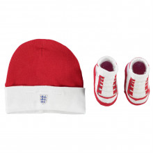 England Hat and Bootie Set Babies