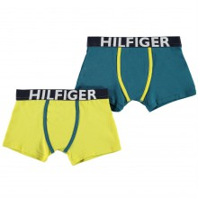 Tommy Hilfiger 2 Pack Trunks Junior Boys