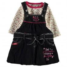 Lee Cooper 2 Piece Denim Set Baby Girls