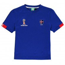 FIFA World Cup Russia 2018 Iceland Core T Shirt Junior