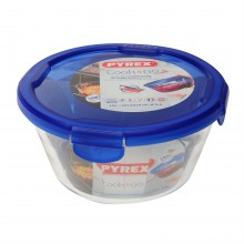 Pyrex 1.6L Round Dish with Lid
