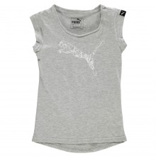 Детская майка Puma Cat Logo T Shirt Infant Girls