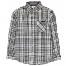 Lee Cooper Long Sleeve Checked Shirt Junior Boys