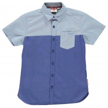 Lee Cooper Short Sleeve Shirt Junior Boys