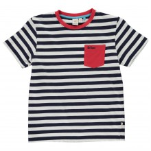 Lee Cooper Striped T Shirt Junior Boys