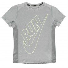 Nike Dry Miler T Shirt Junior Boys