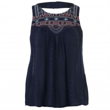 SoulCal Embroidered Lace Top Ladies