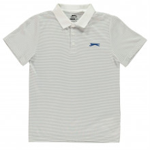 Slazenger Micro Stripe Polo Shirt Junior Boys