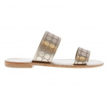 Firetrap Blackseal Lilac Lazer Sandals