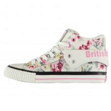 British Knights Roco Fold Canvas Ladies Hi Tops