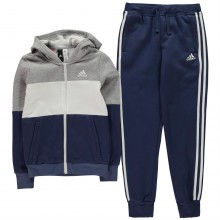 adidas YG Tracksuit Junior Girls