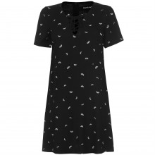 Firetrap Lace Up Dress Ladies
