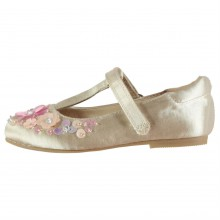 Miso Embellished Infant Girls Flat Shoes