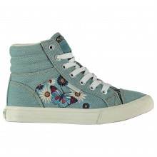 SoulCal Asti Child Canvas Hi Tops