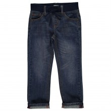 Crafted Ribbed Waistband Jeans Infant Boys