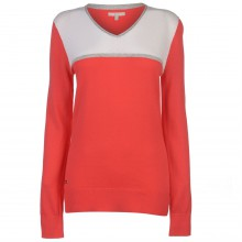 adidas V Neck Golf Sweater Ladies