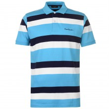 Pierre Cardin 3 Stripe Polo Shirt Mens