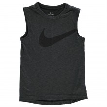 Nike GFX Hyper Sleeveless T Shirt Junior Boys