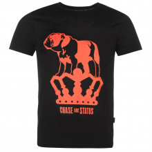 Official Chase and Status T Shirt Mens