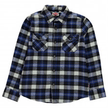 Lee Cooper Flannel Shirt Junior