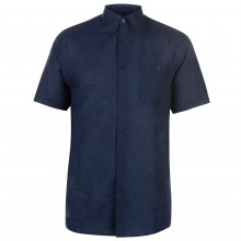 Pierre Cardin Linen Shirt Mens