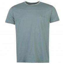 Pierre Cardin Panelled T Shirt Mens