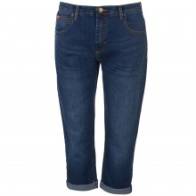 Lee Cooper Cropped Jeans Ladies
