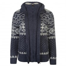 SoulCal Aztec Knitted Jumper
