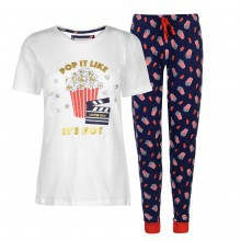 Rock and Rags Fun Print PJ Set