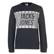 Мужской свитер Jack and Jones Core Jcopassion Crew Sweater