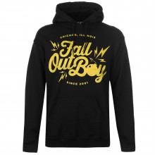 Official Fall Out Boy Hoodie Mens
