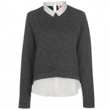 Lee Cooper Collar Sweatshirt Ladies