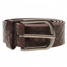 Lee Cooper Checker Belt Mens