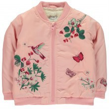 Crafted Embroidered Bomber Child Girls