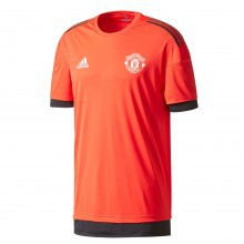 adidas Manchester United European Training Shirt Mens