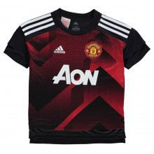 adidas Manchester United Pre Match Jersey Junior Boys