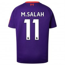 New Balance Liverpool Mohamed Salah Away Shirt 2018 2019 Junior