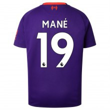 New Balance Liverpool Sadio Mane Away Shirt 2018 2019 Junior