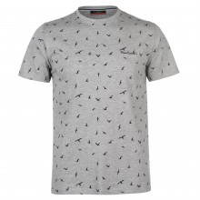 Pierre Cardin Faded Tropical Print Tee Mens