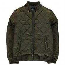 Firetrap Quilted Bomber Junior Boys