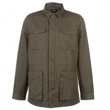 Firetrap Military Jacket Mens