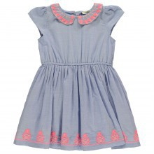 Crafted Chambray Dress Infant Girls