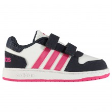 adidas Hoops 2.0 Trainers Infant Girls